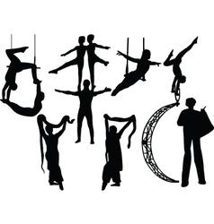 circus 2 vector image