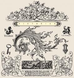 victorian vector image vector image