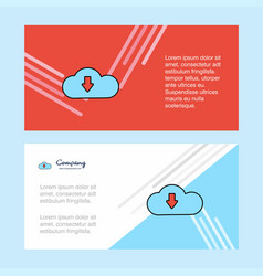 downloading abstract corporate business banner vector image