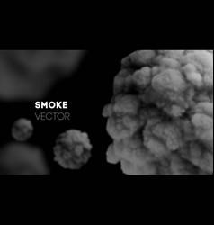 Light smoke background eps 10 mist vector
