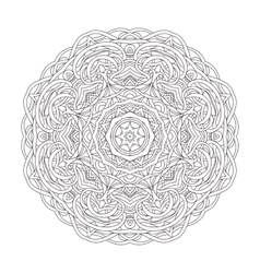 Mandala Vintage decorative vector image