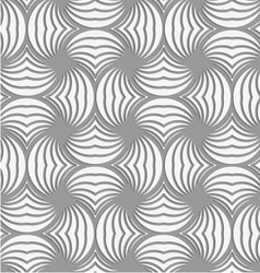 Perforated twisted striped circle pin will vector