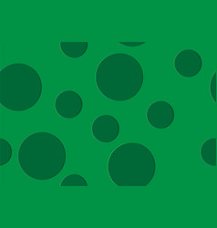 Seamless geometric pattern with circles of vector