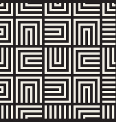 seamless lines mosaic pattern modern vector image