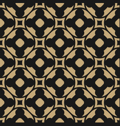 seamless pattern in oriental style black and gold vector image