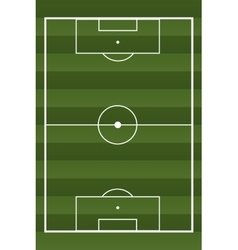 Soccer textured field vector image vector image
