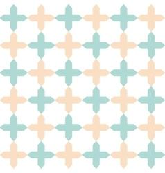 light flat geometrical seamless pattern vector image vector image