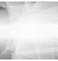 Abstract Grey Polygonal Background vector image