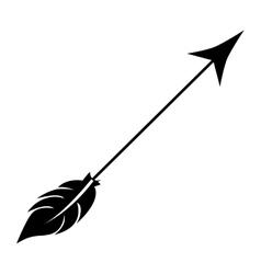 arrow archery icon image vector image vector image