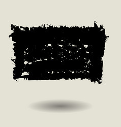 Abstract black texture background template vector