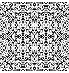 Abstract seamless outline pattern vector image