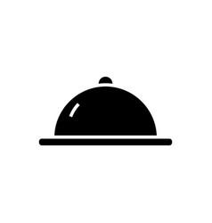 Menu launch icon black sign vector