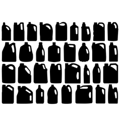 Set Of Different Canisters vector image