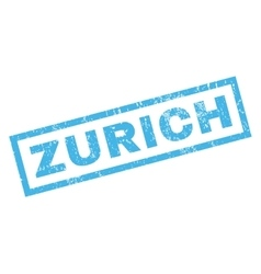 Zurich Rubber Stamp vector
