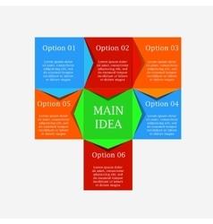 Process chart module vector