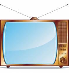 tv render vector image vector image