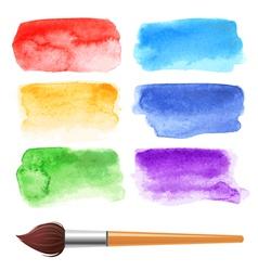 Watercolor frames vector