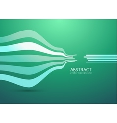 abstract curve lines background for vector image
