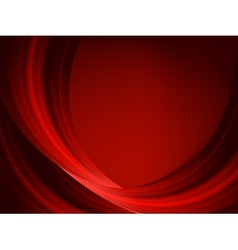 Abstract thin red lines on a dark EPS 8 vector