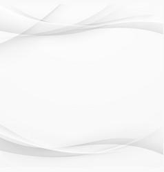 Futuristic minimalistic simple grey lines layout vector