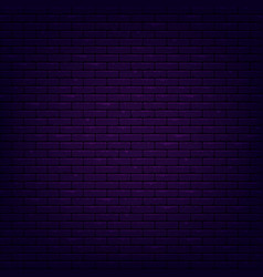 illuminated brick wall vector image