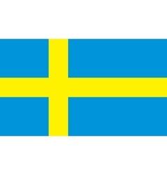 Sweden flag image vector