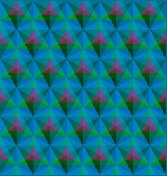 triangular geometric seamless pattern vector image