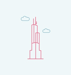 Willis Tower vector