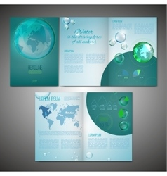 Brochure Template Image vector image