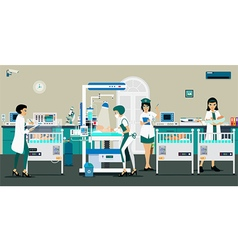 room newborn baby vector image