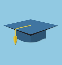 Academic cap vector