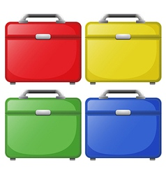 Colourful bags vector image