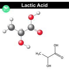 Lactic acid molecule vector
