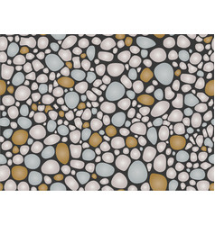 Pebbles pattern seamless vector