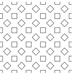 repeating abstract monochrome square pattern vector image