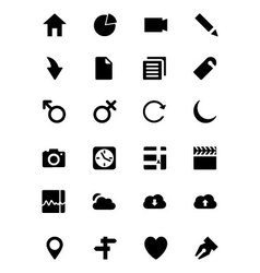 Universal Web and Mobile Icons 1 vector