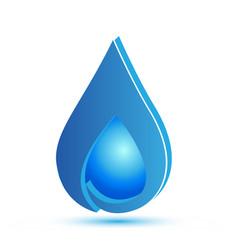 Water drop tear vector