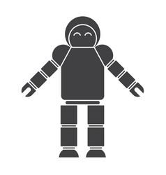 Robotics icon vector