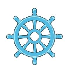 Rudder icon vector image