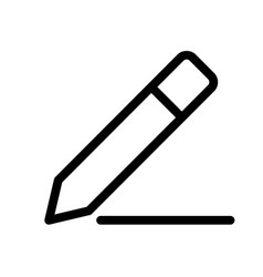 Edit tool button for composing draft page vector