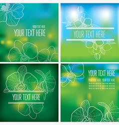 floral back new 001 vector image