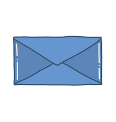 hand drawn envelope vector image