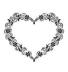 Heart frame vector