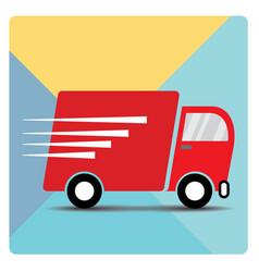 Logistic cars 03 vector