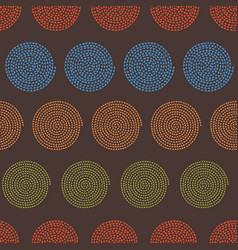 Multicolored spiral seamless pattern background in vector