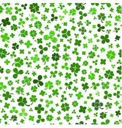 Seamless pattern on st patricks day vector