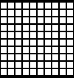 Simple seamless square grid pattern background vector