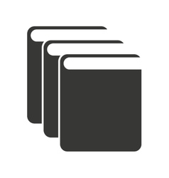 Text book isolated icon design vector