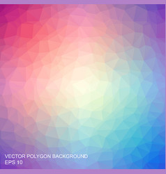 triangle multicolored background vector image