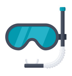 dive mask icon vector image